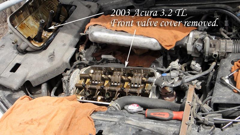 Acura TL Bent Valves Takaki Automotive - Timing belt acura tl
